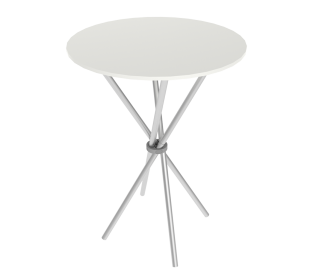 Custom Highboy Bar Height Cocktail Table With Graphics