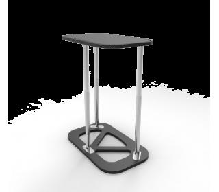 Portable Rectangular Display Counter With Custom Printing
