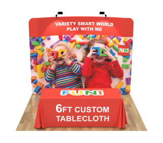 10ft Curved Portable Trade Show Booth Kit 02