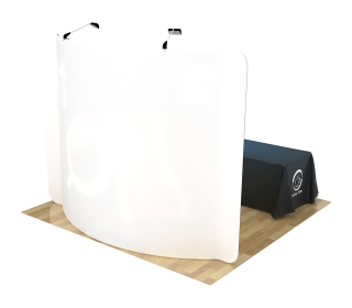 10ft Curved Portable Trade Show Booth Kit 03