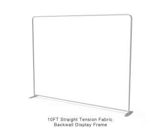 10ft Straight Portable Trade Show Booth Kit 05