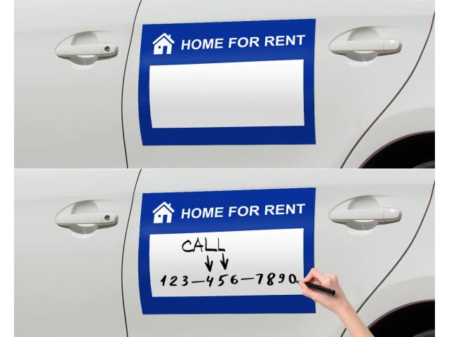 Dry Erase Car Magnets