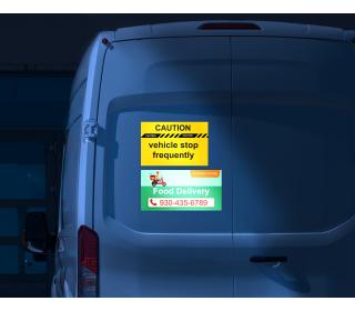 Reflective Car Magnets