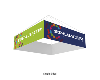 15ft Rectangular Hanging Banner/Sign for Trade Shows/Exhibitions