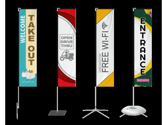 Custom Rectangle Flag