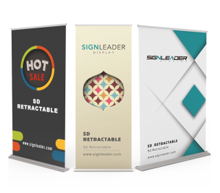 SD Retractable Banner Stands