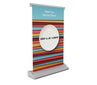 Table Top Banner Stand