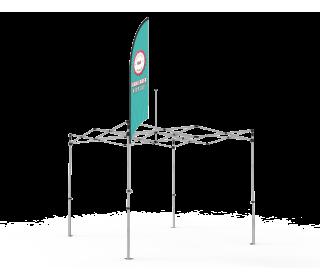 Custom Tent Flag for 10 X10, 10 X 15, 10 X 20 Canopy Tent