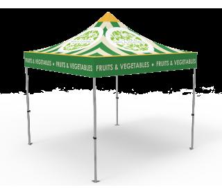 Custom 10x10 Pop Up Canopy Tent(Full Color)