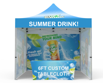 Custom 10x10 Pop Up Canopy Tent Combos 16 for Events