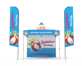 Custom 10x10 Pop Up Canopy Tent Combos 19 for Events