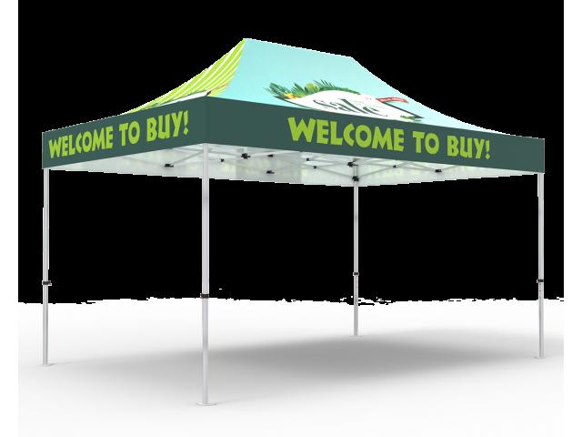 Custom 10x15 Pop Up Canopy Tent(Full Color)