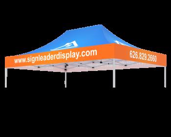 10x15 Custom Printed Canopy Top