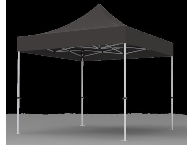 Unprinted Black 10 x 10 Pop Up Canopy Tent