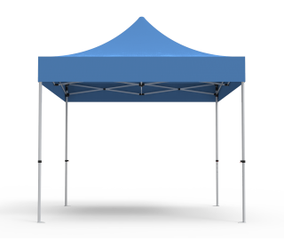 Unprinted Blue 10 x 10 Pop Up Canopy Tent