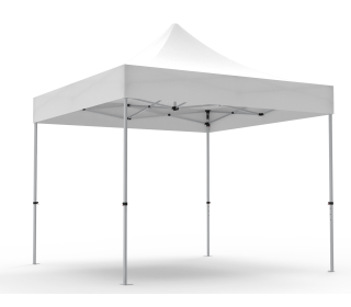 Unprinted White 10 x 10 Pop Up Canopy Tent