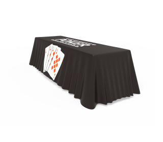 Table Cover 3 Side  (Open Back)