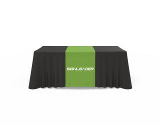 Table Runner + Solid Color Throw Combo