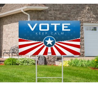 Real Estate Yard Signs And H-Stake